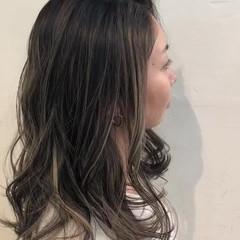 ナチュラル ユニコーンカラー グラデーションカラー ボブ ヘアスタイルや髪型の写真・画像