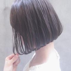 ボブ ワンカール デート オフィス ヘアスタイルや髪型の写真・画像