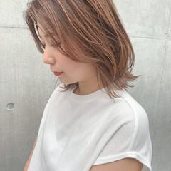 ウルフカット こなれ感 ミディアムレイヤー ミディアム ヘアスタイルや髪型の写真・画像