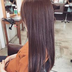 コンサバ ラベンダー 夏 大人かわいい ヘアスタイルや髪型の写真・画像