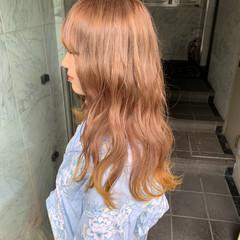 外国人風カラー ストリート 韓国ヘア カジュアル ヘアスタイルや髪型の写真・画像