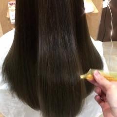 秋 ナチュラル セミロング 外国人風カラー ヘアスタイルや髪型の写真・画像