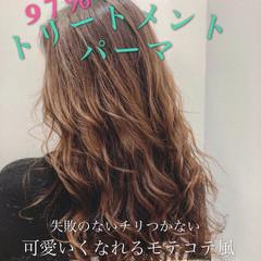 エレガント 巻き髪 ロング 小顔ヘア ヘアスタイルや髪型の写真・画像