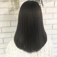 トリートメント 艶髪 ナチュラル 縮毛矯正 ヘアスタイルや髪型の写真・画像