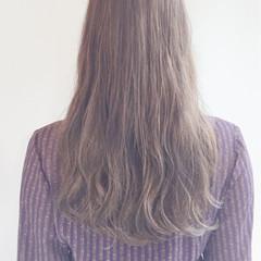 ミルクティー ハイトーン ガーリー ロング ヘアスタイルや髪型の写真・画像