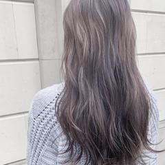 ナチュラル 透明感カラー シアーベージュ ハイトーンカラー ヘアスタイルや髪型の写真・画像