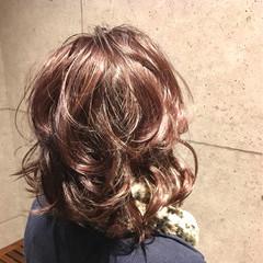 ミディアム 外国人風 外国人風カラー ナチュラル ヘアスタイルや髪型の写真・画像