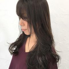外国人風カラー アッシュ ストリート 暗髪 ヘアスタイルや髪型の写真・画像