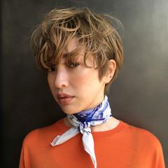 簡単ヘアアレンジ アウトドア ショート 成人式 ヘアスタイルや髪型の写真・画像