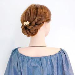 アウトドア 上品 ヘアアレンジ ロング ヘアスタイルや髪型の写真・画像