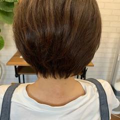 ショートヘア ミニボブ ボブ 大人かわいい ヘアスタイルや髪型の写真・画像