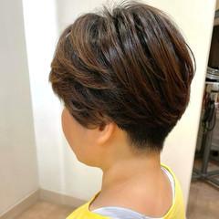 刈り上げ女子 ベリーショート ショートヘア ツーブロック ヘアスタイルや髪型の写真・画像