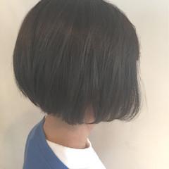アッシュ 外国人風 ボブ 色気 ヘアスタイルや髪型の写真・画像