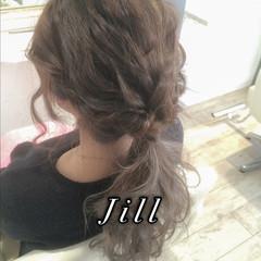 簡単ヘアアレンジ ヘアアレンジ 波ウェーブ ゆるふわ ヘアスタイルや髪型の写真・画像