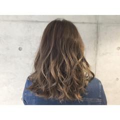 アッシュ グラデーションカラー 外国人風 ストリート ヘアスタイルや髪型の写真・画像