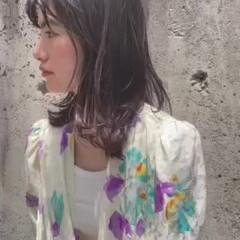 モード ウルフカット ひし形シルエット ニュアンスウルフ ヘアスタイルや髪型の写真・画像