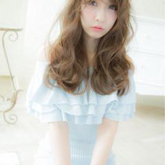ピュア 外国人風 ゆるふわ フェミニン ヘアスタイルや髪型の写真・画像