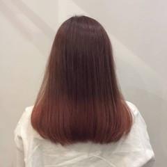デート ピンク ナチュラル可愛い かわいい ヘアスタイルや髪型の写真・画像