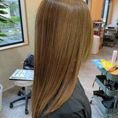ナチュラル ロング 最新トリートメント 髪質改善トリートメント ヘアスタイルや髪型の写真・画像