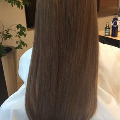 ロング アッシュ ナチュラル 外国人風カラー ヘアスタイルや髪型の写真・画像