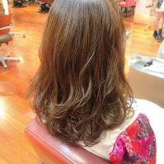ゆるふわ モテ髪 フェミニン ストリート ヘアスタイルや髪型の写真・画像