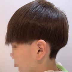 インナーカラー ナチュラル ミニボブ ショート ヘアスタイルや髪型の写真・画像