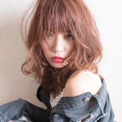 ヘアアレンジ ミルクティー ロング ゆるふわ ヘアスタイルや髪型の写真・画像