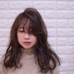 アンニュイほつれヘア デート ヘアアレンジ フェミニン ヘアスタイルや髪型の写真・画像