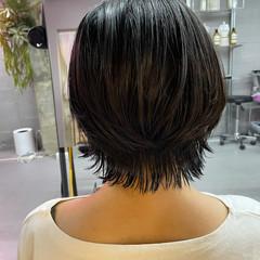 ウルフカット ナチュラル可愛い ウルフ女子 ウルフ ヘアスタイルや髪型の写真・画像