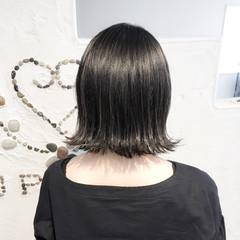暗髪 オフィス ハイライト ブルージュ ヘアスタイルや髪型の写真・画像
