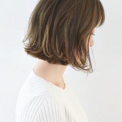 ハイライト アンニュイほつれヘア 外国人風カラー ボブ ヘアスタイルや髪型の写真・画像