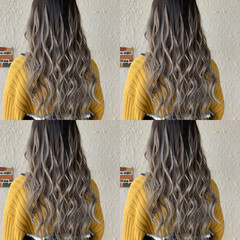 エクステ ロング グラデーションカラー 外国人風カラー ヘアスタイルや髪型の写真・画像