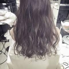 ロング ストリート ウェーブ おフェロ ヘアスタイルや髪型の写真・画像