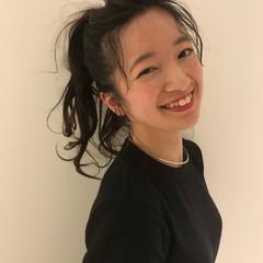 デート ヘアアレンジ オフィス フェミニン ヘアスタイルや髪型の写真・画像