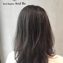 ハイライト ナチュラル グラデーションカラー アッシュ ヘアスタイルや髪型の写真・画像