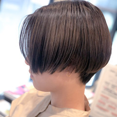 ベリーショート モード ショート ミニボブ ヘアスタイルや髪型の写真・画像