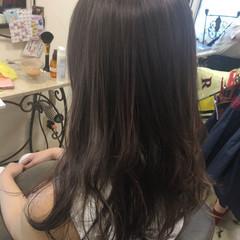 デート ロング 秋 オフィス ヘアスタイルや髪型の写真・画像