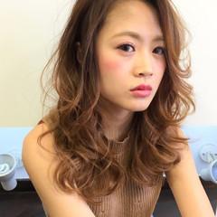かっこいい セミロング ハイライト 春 ヘアスタイルや髪型の写真・画像