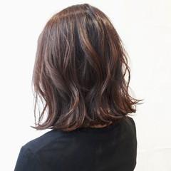 秋 透明感 外国人風 ボブ ヘアスタイルや髪型の写真・画像