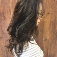 ガーリー ロング ハイライト 外国人風 ヘアスタイルや髪型の写真・画像