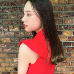 髪質改善トリートメント 髪質改善 ロング エレガント ヘアスタイルや髪型の写真・画像