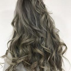 グラデーションカラー エレガント 夏 ダブルカラー ヘアスタイルや髪型の写真・画像