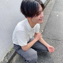 ショート ハンサムショート ストリート シンプル ヘアスタイルや髪型の写真・画像
