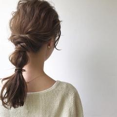 結婚式 デート 女子会 簡単ヘアアレンジ ヘアスタイルや髪型の写真・画像