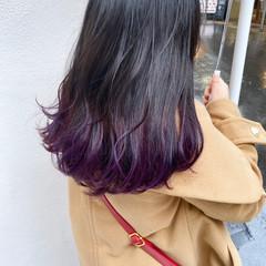 ハイトーンカラー ナチュラル 簡単ヘアアレンジ ハイライト ヘアスタイルや髪型の写真・画像