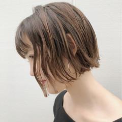 抜け感 外国人風カラー ボブ モード ヘアスタイルや髪型の写真・画像