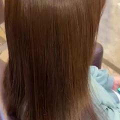 髪質改善 ピンクアッシュ 髪質改善トリートメント ナチュラル ヘアスタイルや髪型の写真・画像