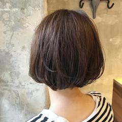 アンニュイ オフィス 女子会 ボブ ヘアスタイルや髪型の写真・画像