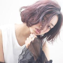 モード 外国人風 ボブ 抜け感 ヘアスタイルや髪型の写真・画像