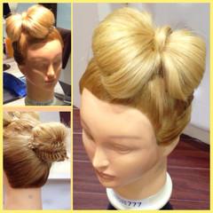 ヘアアレンジ ロング 外国人風 フィッシュボーン ヘアスタイルや髪型の写真・画像
